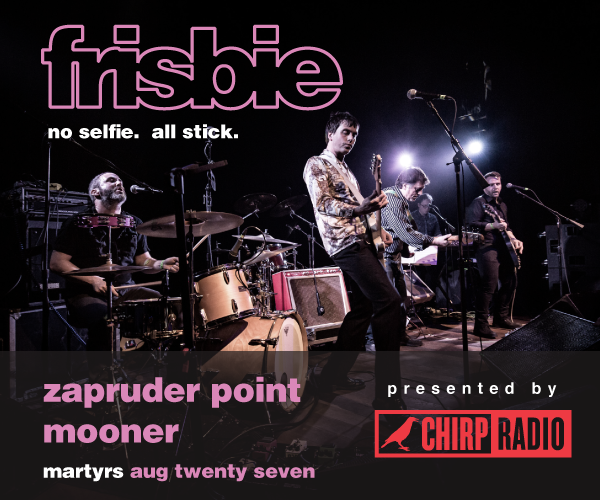 CHIRP Presents Zapruder Point