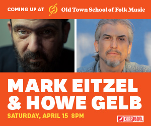 CHIRP welcomes Mark Eitzel & Howe Gelb