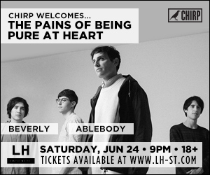 CHIRP welcomes Pains of Being Pure at Heart