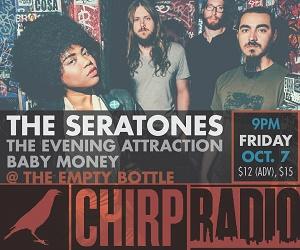 CHIRP Radio welcomes Seratones