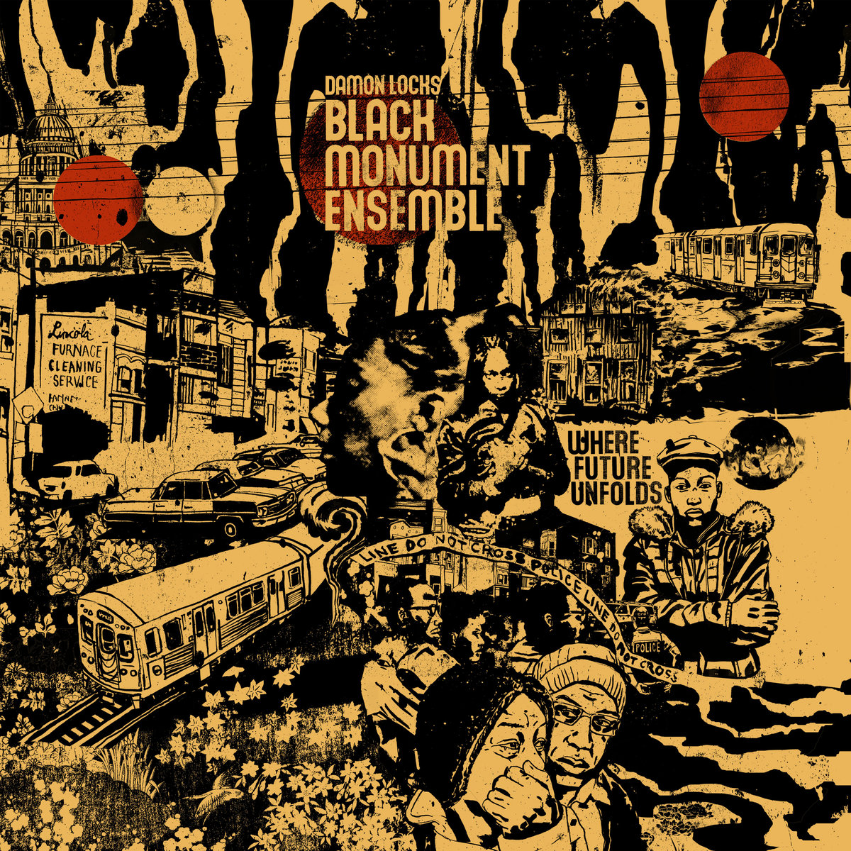 Damon Locks/Black Monument Ensemble Where Future Unfolds