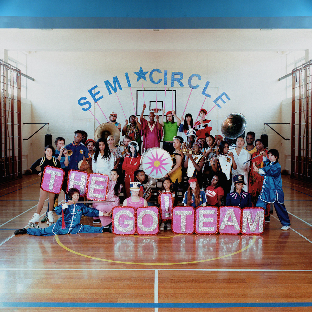The Go! Team Semiciricle