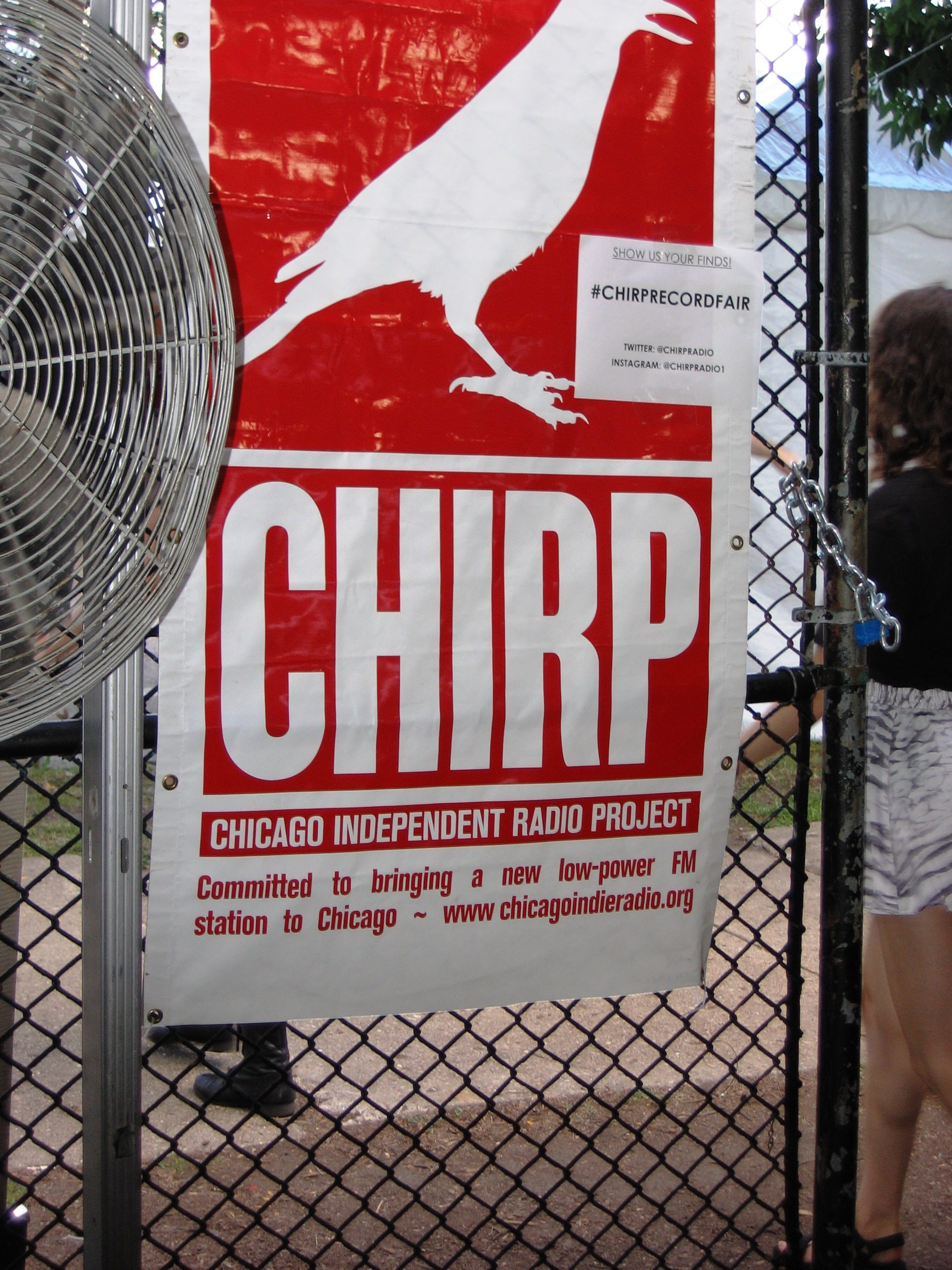 Pics from the 2015 Pitchfork Music Festival and CHIRP Record